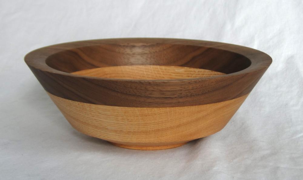 Walnut & Oak Bowl